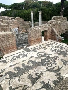 The ancient Roman towns of Ostia Antica and Herculaneum are great alternatives to Pompeii for visiting Roman ruins in Italy. Ancient Pompeii, Pompeii Ruins, Pompeii Italy, Pompeii And Herculaneum, Ancient Ruins, In Ancient Times, Ancient Greece, Ancient Art, Ancient History