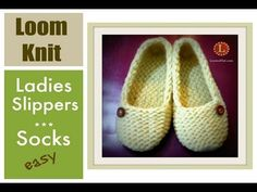 Ladies Slippers on a Loom
