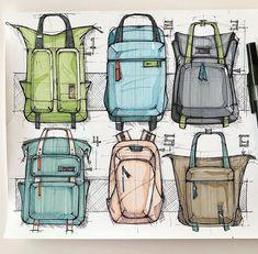 Best Garden Decorations Tips and Tricks You Need to Know - Modern Backpack Drawing, Drawing Bag, Bag Illustration, Diy Backpack, Industrial Design Sketch, Art Reference Poses, Designer Backpacks, Sketch Design, Grafik Design