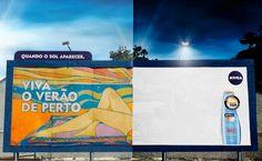 Kreative Nivea Kampagne in Rio de Janeiro. http://www.brasil-portal.de/nivea-brasil-kreative-plakatwand-fur-rio-de-janeiro/