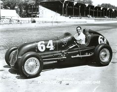 Hal Robson 1948 Indy 500