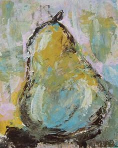 pear abstract painti