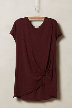 Gathered Tee - anthropologie.com #anthrofave