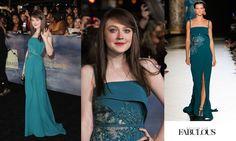 DAKOTA FANNING BREAKING DAWN NYC PREMIERE | Dakota Fanning Wearing Elie Saab At The 'Twilight' Breaking Dawn Part ...
