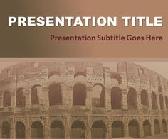Civilization PPT Template is a free history PowerPoint slide design with sepia tone that you can download for presentations on civilization