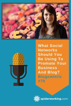 What social networks should you be using to promote your business? How do you choose the ones that will be most effective for you? Social Networks, Social Media, Promote Your Business, Being Used, Knowing You, Promotion, Blog, Blogging, Social Media Tips