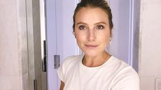 The model, actress, and It girl shares her secret to black-tie no-makeup makeup.