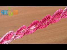Volumetric Crochet Cord video demonstration