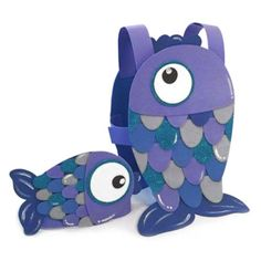 Cute kids fish costume idea.  Could make from foam or cardboard!