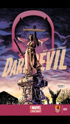 DAREDEVIL VOL 4 Marvel's fearless hero as he begins his most awe-inspiring adventure yet in the sunny city of San Francisco! Gifted with an imperceptible radar sense and a passion for. Marvel Dc Comics, Marvel Comic Books, Comic Book Heroes, Marvel Heroes, Marvel Characters, Comic Books Art, Daredevil Artwork, Daredevil Elektra, Cbr