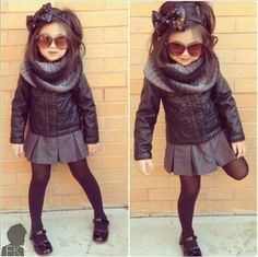 Kid's Fashion ~ Visit Rae's Bands Boutique for custom and handmade hair accessories for women and children ~ www. ~ Source by somethingbyrae fashion girl Little Girl Outfits, Cute Outfits For Kids, Little Girl Fashion, Toddler Outfits, Fashion Kids, Toddler Fashion, Latest Fashion, Winter Fashion, Fashion Trends