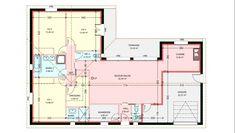 Maisons plain pied 3 chambres de 112 m² construite par Demeures Familiales