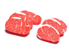 This isn't actually raw steak, silly!