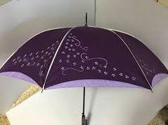 Resultado de imagen de paraguas pintados a mano