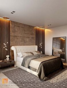 The Modern Look of Luxury bedroom
