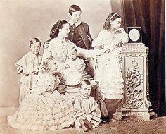 Alexandra Iosifovna and children