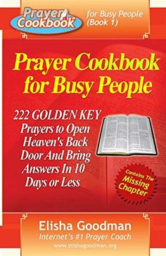 Prayer Cookbook for Busy People (Book 222 Golden Key Prayers, a book by Elisha Goodman