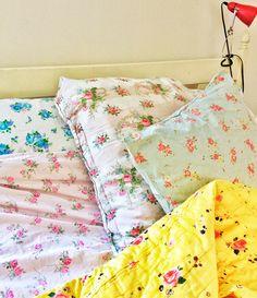 floral bed linens