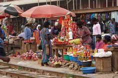 Kumasi market, Ghana