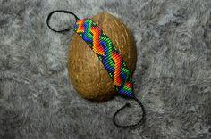 Anaconda, Loom Beading, Beadwork, Artisan, Beaded Bracelets, Stone, Pattern, Crafts, Etsy