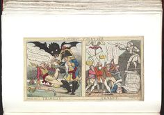 1 July 1813:Bodleian Libraries, Tragedy Comedy.Caricature of Napoleon I. (British political cartoon)
