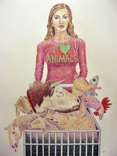 Jo Frederiks - Blind to the Hypocrisy Vegan Facts, Vegan Memes, Vegan Quotes, Vegan Funny, Why Vegan, Vegan Vegetarian, Vegetarian Facts, Vegetarian Quotes, Stop Animal Cruelty