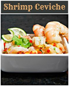Try this recipe for refreshing Pineapple and Shrimp Ceviche! // #Shrimp #Ceviche #Recipe