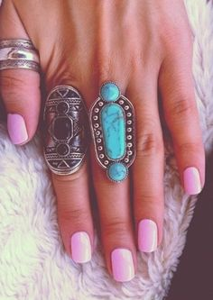 I wish I had longer fingers for these types of rings!