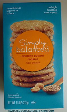 What's Good at Archer Farms?: Simply Balanced Crunchy Peanut Cookies with Quinoa