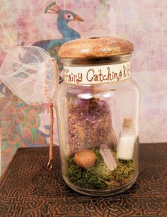 Madame Celestia's Fairy Catching Kit by prismmoon on Etsy