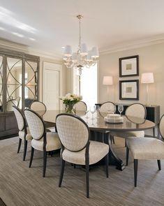 Dining room ©Kristin Peake Interiors