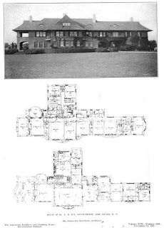 'Elyria', the Dr. Albert H. Ely residence designed by Grosvenor Atterbury c. 1900.