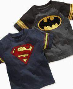 Warner Brothers Kids T-Shirt, Little Boys Logo Tees