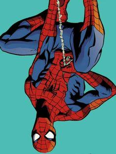 Hows it hanging Marvel Comic Books, Marvel Dc Comics, Marvel Heroes, Comic Books Art, Spiderman Art, Amazing Spiderman, Spiderman Cosplay, Spectacular Spider Man, Spideypool
