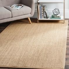 Shop for Safavieh Casual Natural Fiber Handmade Maize / Linen Sisal Rug (8' x 10'). Get free shipping at Overstock.com - Your Online Home Decor Outlet Store! Get 5% in rewards with Club O!