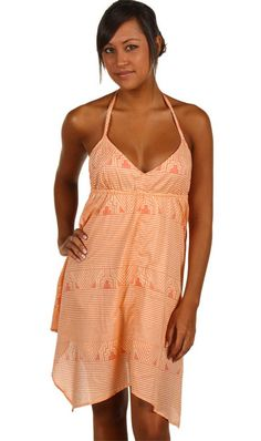 #summerdress Get the party started with this coral short summer dress. Really cute!
