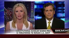 Constitutional Scholar Warns Obama is Threatening to Remake Gov't into dictatorship. No election in 2016!