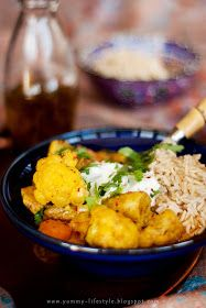 Yummy Lifestyle - Z uwielbienia dla jedzenia.: Curry z kurczakiem i kalafiorem.