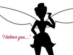 Tinkerbell Silhouette by DisneyMagic4Ever | Create Art | Disney - ClipArt Best - ClipArt Best