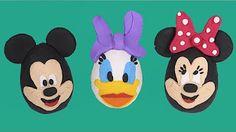 Huevos Sorpresa de Mickey Mouse en Español de Plastilina Play Doh - YouTube