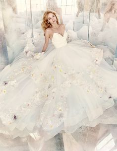 Hayley Paige Bridal Spring 2016 Collection by JLM Couture, Inc. available at Chic Parisien, a bridal boutique based in Coral Gables FL.