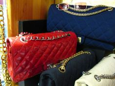 Vintage Chanel and Hermes handbags and accessories, Paris, Catherine B