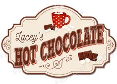 Chocolate Bomb, Hot Chocolate Bars, Foam Poster Board, Poster Boards, Pirate Food, Printable Banner, Bar Wrappers, Diy Signs, Wall Signs