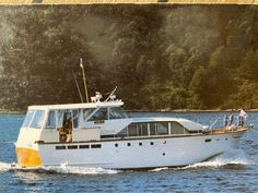 Yacht For Sale, Boats For Sale, Yacht Interior, Interior Design, Side Walkway, Spray Hose, Chris Craft, Sports Sedan, Canoes