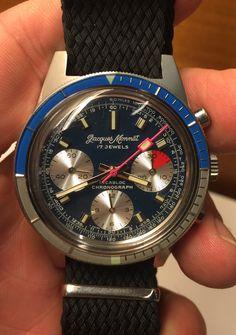 FS: Jacques Monnat Diver Chronograph NOS $1200