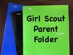 Ms Curly Texan: Girl Scout Parent Folder