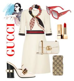 """""""Gucci"""" by peresvas on Polyvore featuring мода, Gucci и Yves Saint Laurent"""