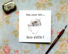 You guys are TEA riffic Group Thank you by BEEautifulcreatures