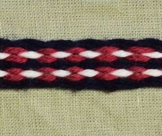 Inkle Woven Braid Inkle Woven Trim for Reenactors by AstridReco