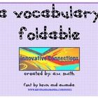 Free: FOLDABLE FOR STUDENTS!USE WITH NOVELS, SHORT STORIES, TEXTBOOK TERMS, ETC.SECTIONS FOR TERMS/PART OF SPEECH, SENTENCES, AND SYNONYMSPLE...